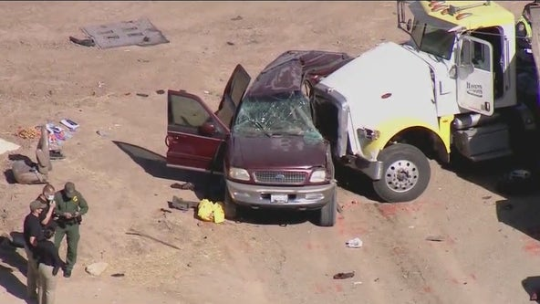 Hospitalized victims of Imperial County crash identified as residents of Mexico, Guatemala