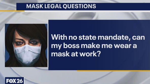 Legal Questions: Statewide COVID-19 mask mandate lifted