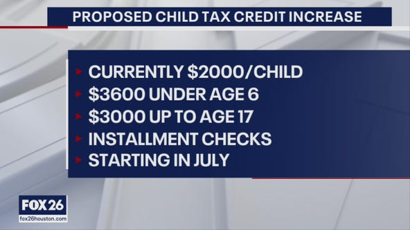 How to estimate child tax credits, stimulus checks in relief bill