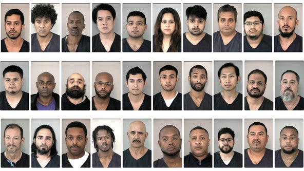 30 people arrested in human trafficking operation in Fort Bend County
