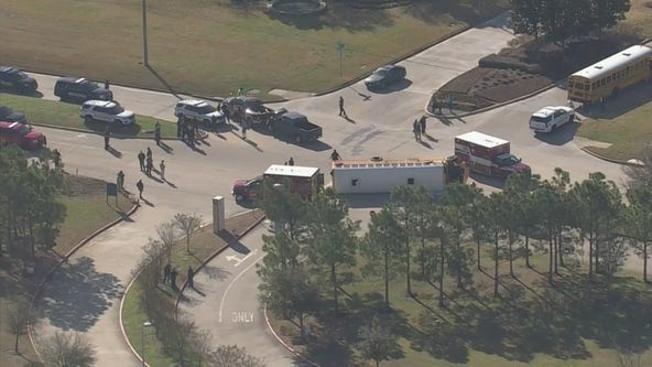 Minor injuries after Cy-Fair ISD bus overturns in NW Harris County