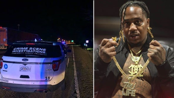 Police: Houston rapper shot and killed on Atlanta-area freeway