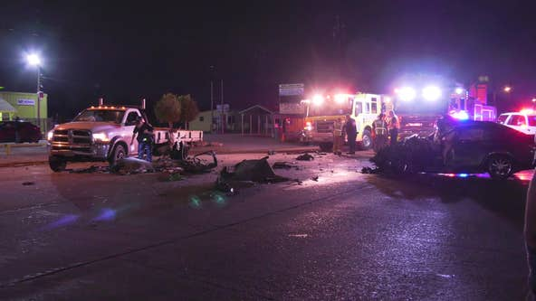 HCSO: Driver arrested for DWI after crash that left man in critical condition