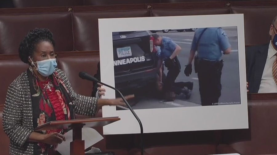 George Floyd's family witnesses House pass police reform bill in Floyd's honor