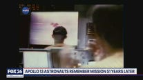 Apollo 13 crew celebrates 51st anniversary of miraculous splashdown landing