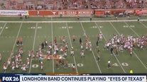 The eyes of Texas are upon you and the band plays on - What's Your Point?