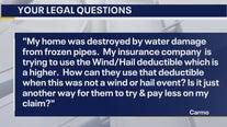 Your Legal Questions: Missing VIN plate; insurance deductible; dementia