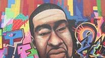 Mural honoring George Floyd vandalized in Houston