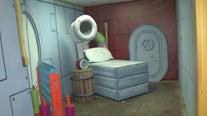'The Rusty Krab Experience' Spongebob Squarepants pop-up bar in Houston