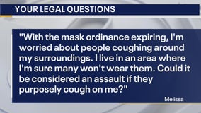 Your Legal Questions: Coughing as assault; truck sale