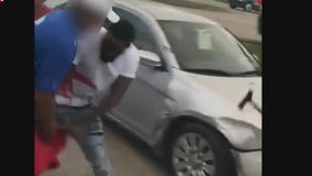 Violent robbery caught on camera in Houston