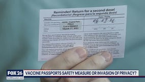 Vaccine passports security or segregation - What's Your Point?