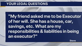 Your Legal Questions: Executor of will;  concealed carry; apartment fee