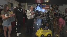 Family left homeless in the February Texas freeze surprised with a nice gift