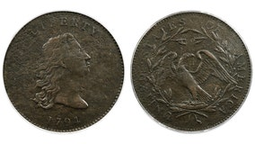 Prototype of first U.S. dollar coins up for auction