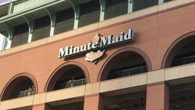 Houston Astros fans return to Minute Maid Park for home opener