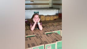 'We can change the world': Cancer-free Girl Scout sells record 32k boxes, using funds to help sick children