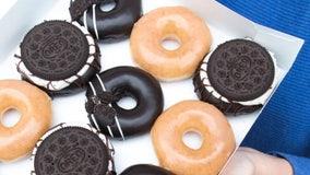 Krispy Kreme unveils Oreo glazed and cookie doughnuts