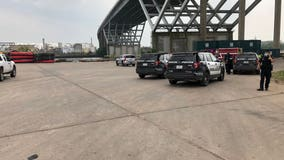 Authorities investigating after man falls from ship channel bridge: police