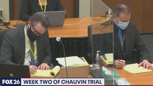 """""""The least amount of force necessary"""" week 2 of the Chauvin trial - What's Your Point?"""
