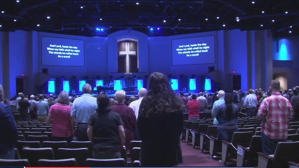 Prayer vigil held for victims of mass shooting in Bryan