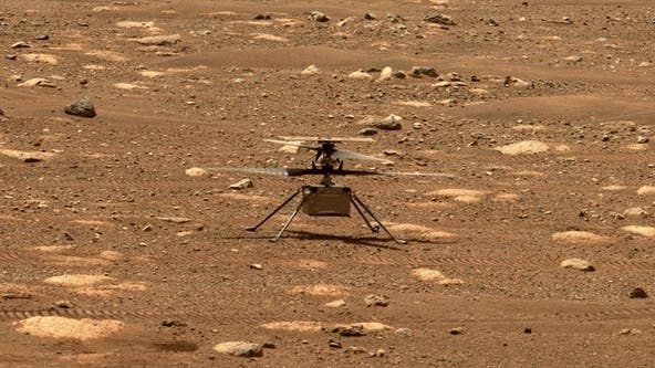 NASA makes history with 1st flight of Ingenuity helicopter on Mars