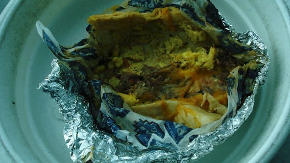 Crystal meth found in breakfast burrito at Hobby Airport security checkpoint