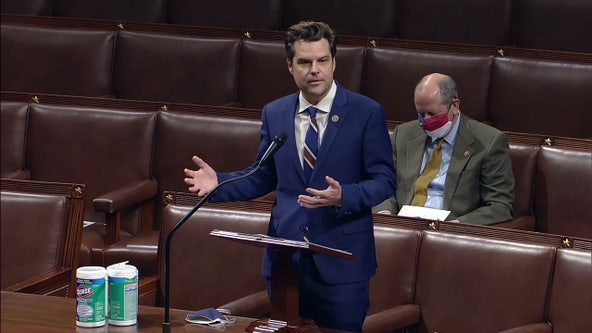 No. 2 House Republican says GOP would act against Gaetz