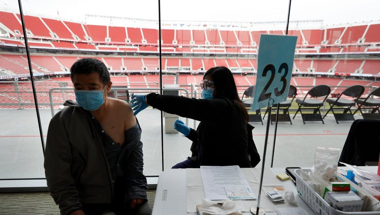 Levi Stadium Opens As Mass Covid Vaccination Site