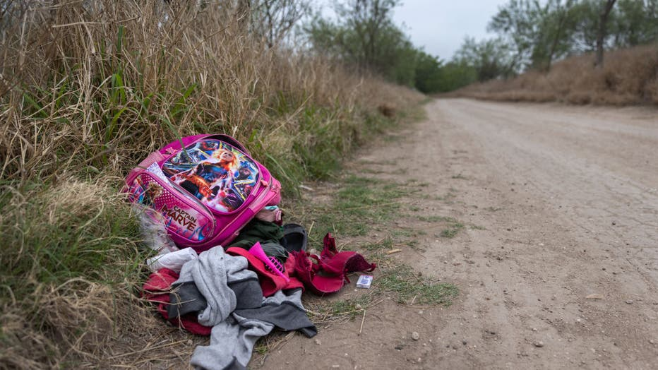 Migrants Cross Into Texas From Mexico