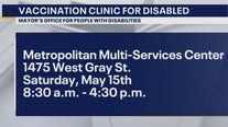 Transportation provided to vaccine clinic for people with disabilities