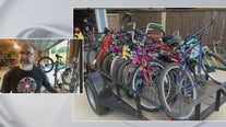 Local charity making good use of old bicycles