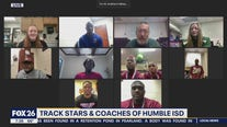 Track stars and coaches of Humble ISD
