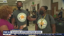 Showing love to teachers!
