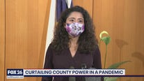 Curtailing county power in a pandemic