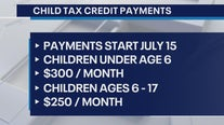 Eligible parents to start getting child tax credit checks in July