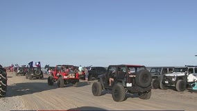 Beefed up police presence in Galveston, Brazoria counties expected due to topless Jeep weekend