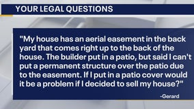 Your Legal Questions - Dog's death; aerial easement