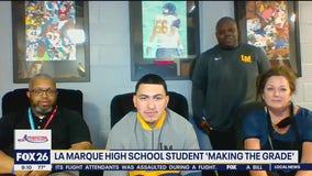 La Marque High School student is Making the Grade