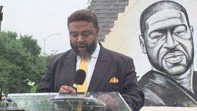 Groundbreaking ceremony for memorial in honor of George Floyd