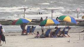 Summer unofficially kicking off Memorial Day Weekend in Galveston