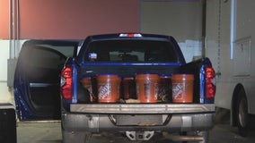 Police find buckets of liquid meth during Texas City traffic stop