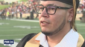 39-year-old follows through on promise to late mother to graduate from Spring Woods High School
