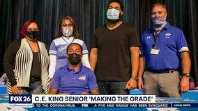 C.E. King High School senior is Making the Grade