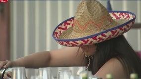 Houstonians celebrating Cinco de Mayo