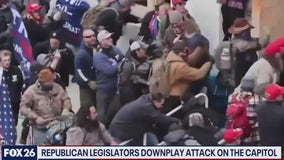 Republican legislators downplay attack on the Capitol- What's Your Point?