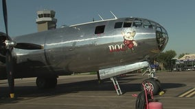 B-29 Superfortress in Houston through the weekend
