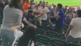 Witness shares what he saw happen before brawl at Astros-Dodgers game