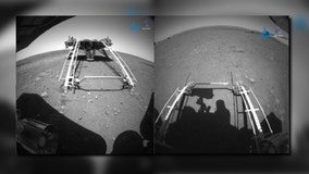 China deploys rover on Martian surface