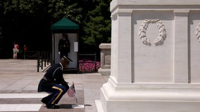 'Band of brothers': Guards keep eternal watch over Tomb of the Unknown Soldier